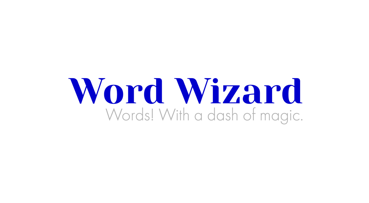 Brand identity system and Creative direction for Word Wizard